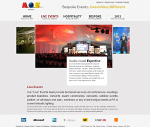 AOK Events - Events Page